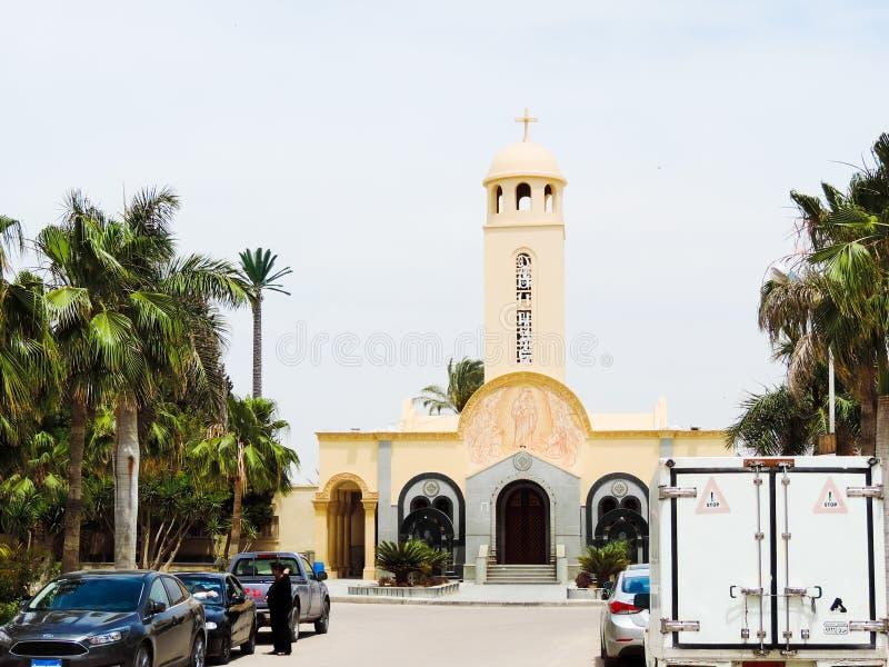Koptisch Orthodox Klooster royalty-vrije stock foto