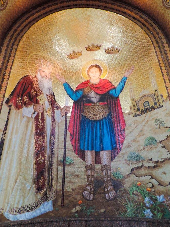 Koptisch Orthodox Klooster stock foto's