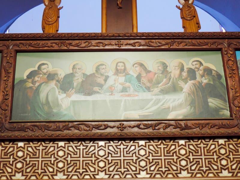 Koptisch Orthodox Klooster stock foto