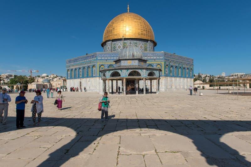 Kopuła skała, Świątynna góra, Jerozolima zdjęcia stock
