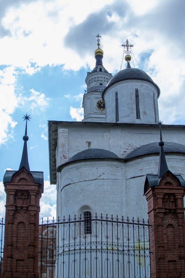 Kopuła antyczny rosyjski kościół prawosławny obraz stock