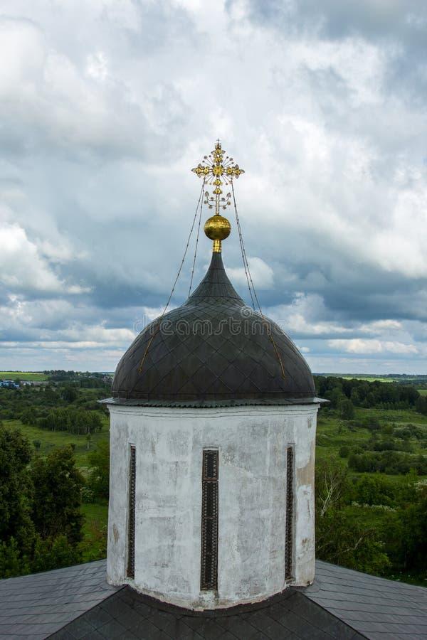 Kopuła antyczny rosyjski kościół prawosławny obraz royalty free