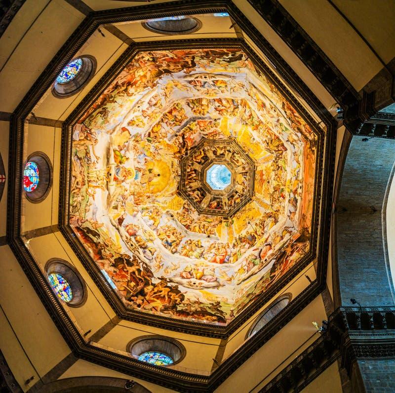 Kopuła Florencja katedra w Florencja, Włochy zdjęcie royalty free
