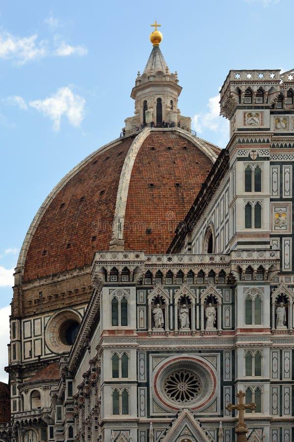 Kopuła katedra Florencja, Włochy - zdjęcia stock