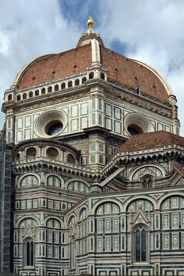 Kopuła katedra Florencja, Włochy - zdjęcie stock