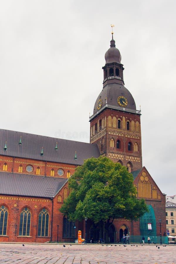 kopuła katedralna Riga zdjęcie royalty free