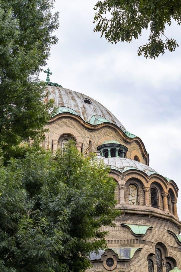 Kopuła kościół St Paraskeva trzeci wielka świątynia w Sofia, Bułgaria, architektoniczny szczegół zdjęcia royalty free