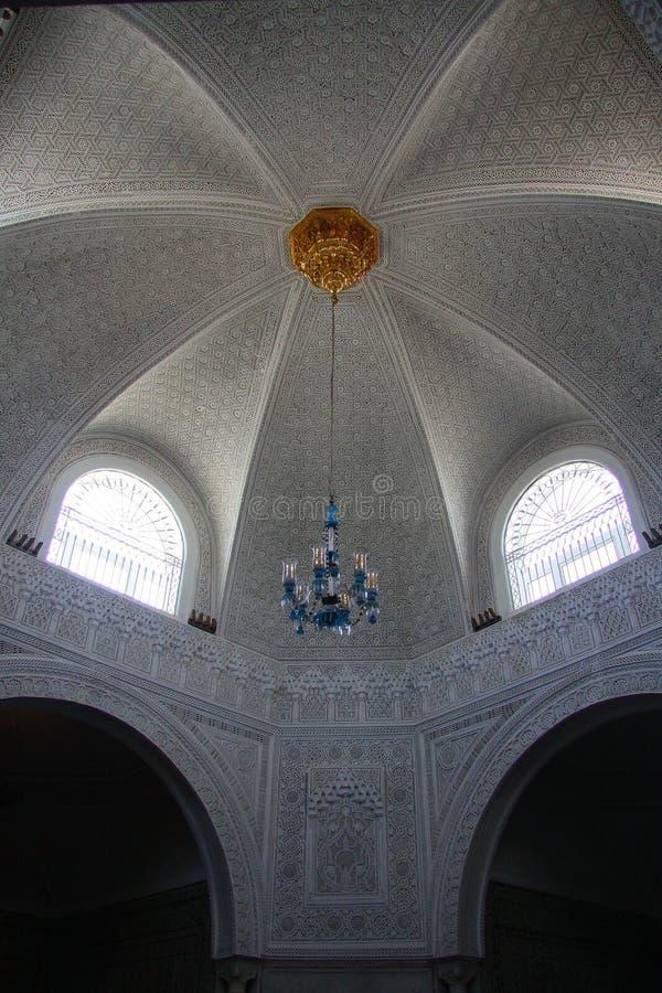 Kopuła muzeum Bardo w Tunis zdjęcie royalty free