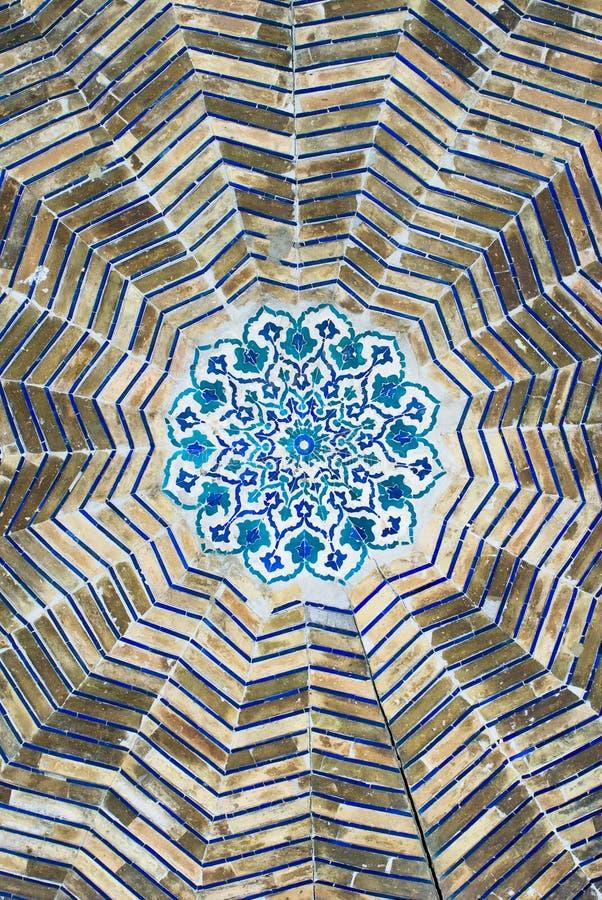 kopuła orientalni meczetowi ozdób fotografia royalty free
