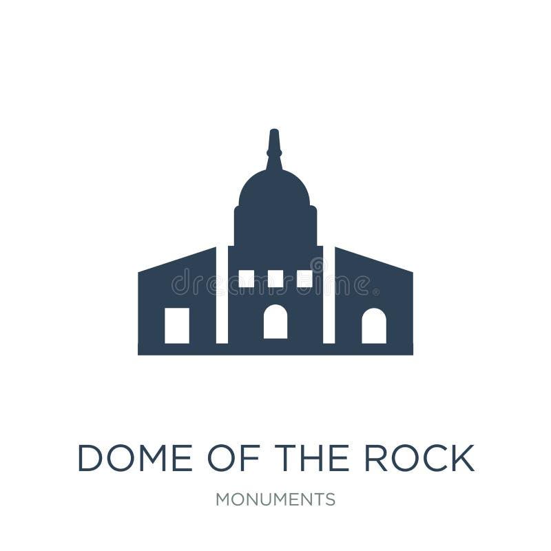 kopuła rockowa ikona w modnym projekta stylu kopuła rockowa ikona odizolowywająca na białym tle kopuła rockowa wektorowa ikona royalty ilustracja