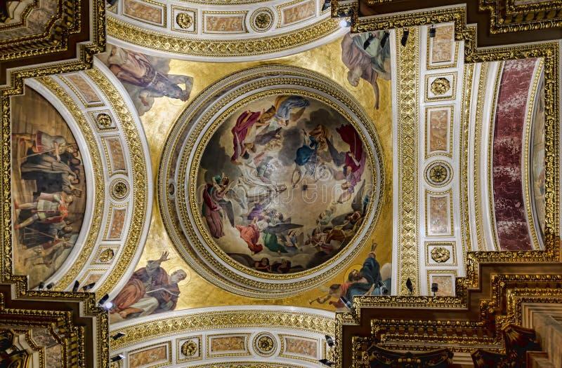 Kopuła St Isaac ` s katedra obrazy stock