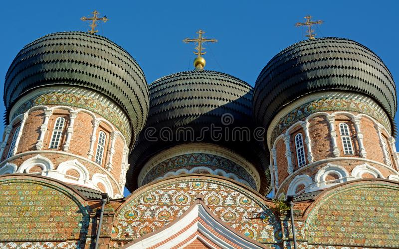 Kopuły budynek w Moskwa zdjęcia royalty free