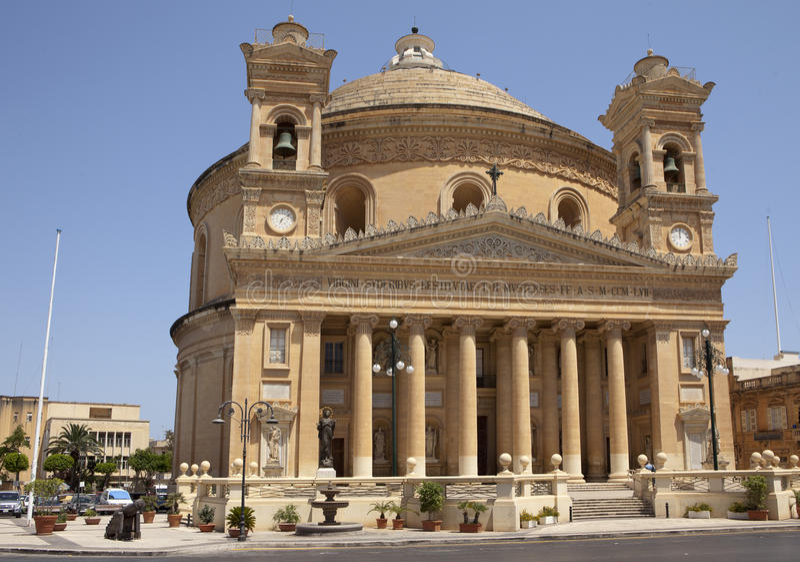 kopuły Malta mosta zdjęcie royalty free