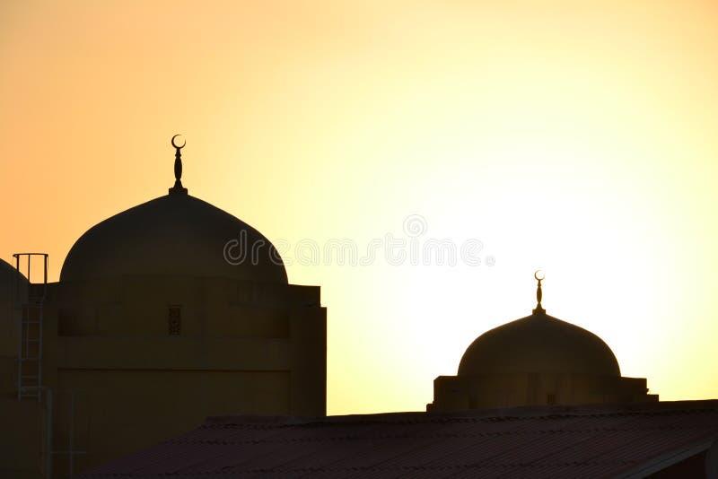 Kopuły meczety obraz royalty free