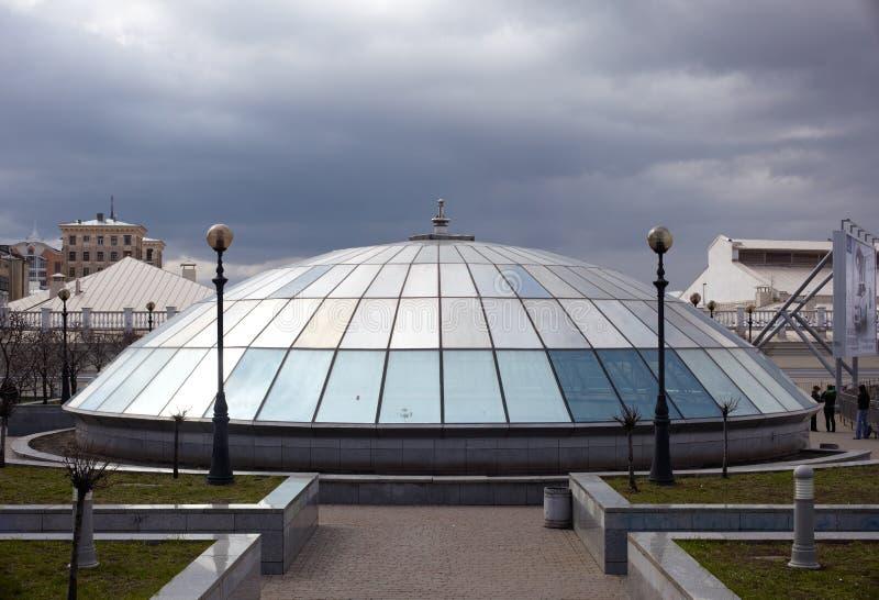 Kopuły szkło, Kijów obrazy royalty free