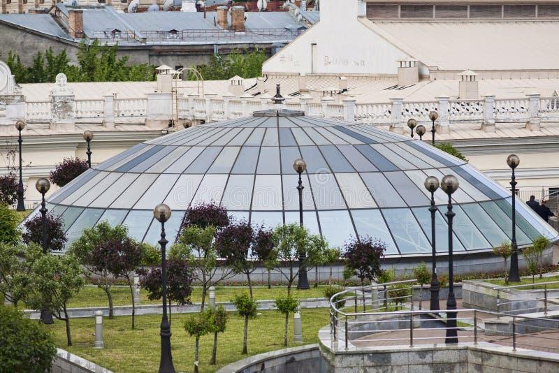 kopuły szklany niezależności Kiev kwadrat obrazy stock