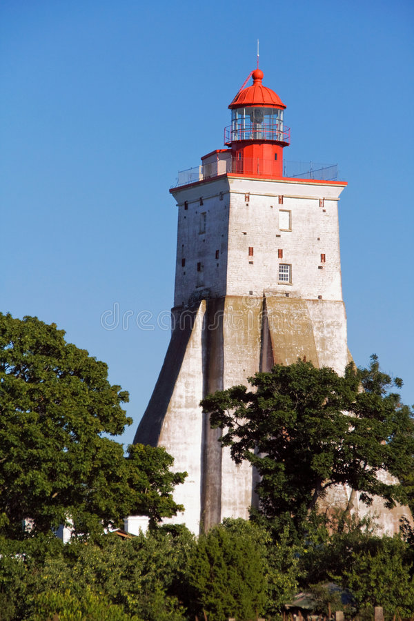 Kopu Lighthouse royalty free stock photography