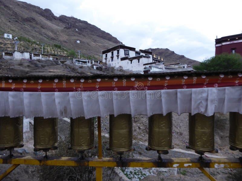 Kora Тибета монастыря Xigatse/Шигадзе Tashilhunpo стоковые изображения rf