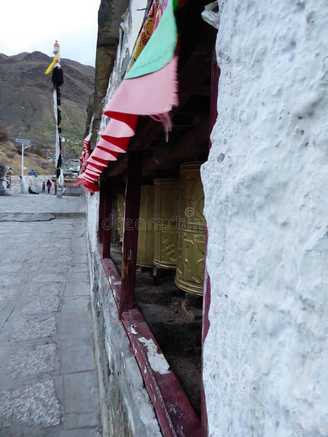 Kora Тибета монастыря Xigatse/Шигадзе Tashilhunpo стоковая фотография