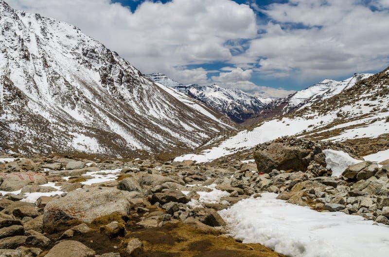 Kora intorno al Monte Kailash fotografia stock libera da diritti