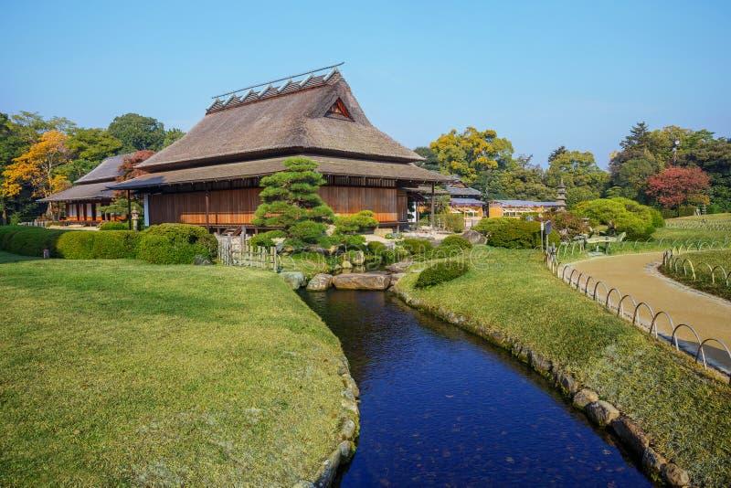 Koraku-en garden in Okayama royalty free stock photography