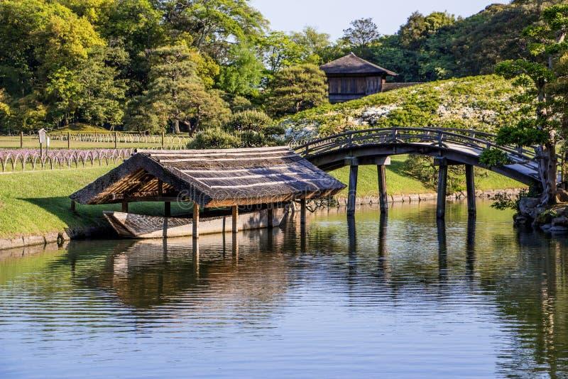 Korakuen image stock image du horizontal tang type for Le jardin korakuen
