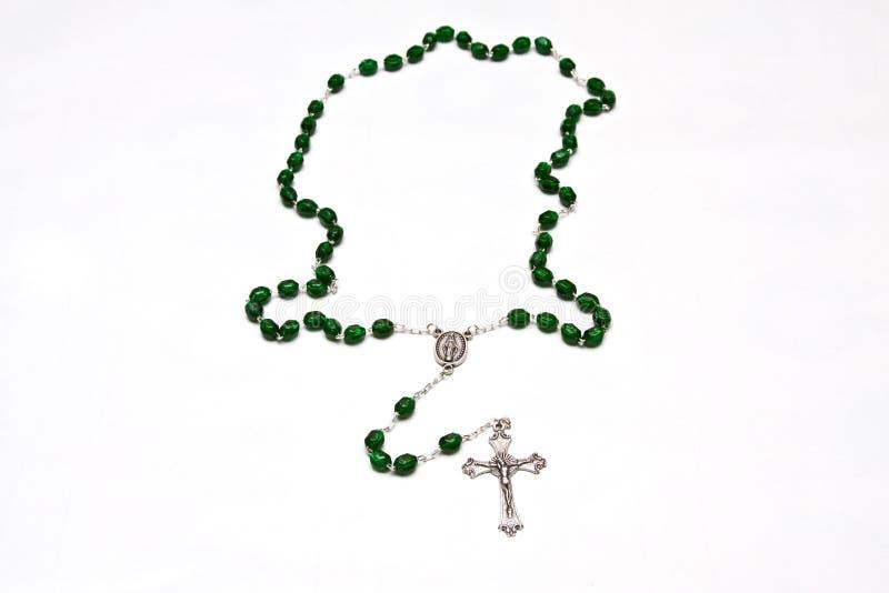 koralików katolika różaniec zdjęcie royalty free