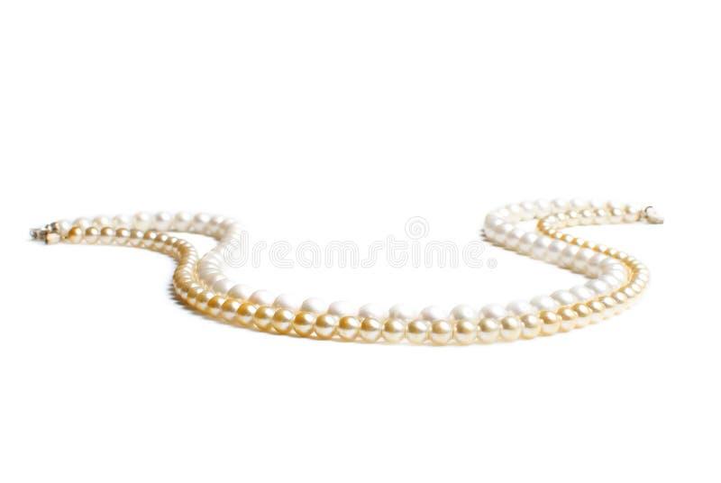 koralików kolii perła fotografia stock