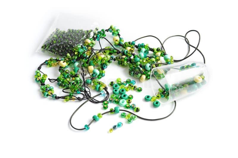 koralik zieleń zdjęcia stock
