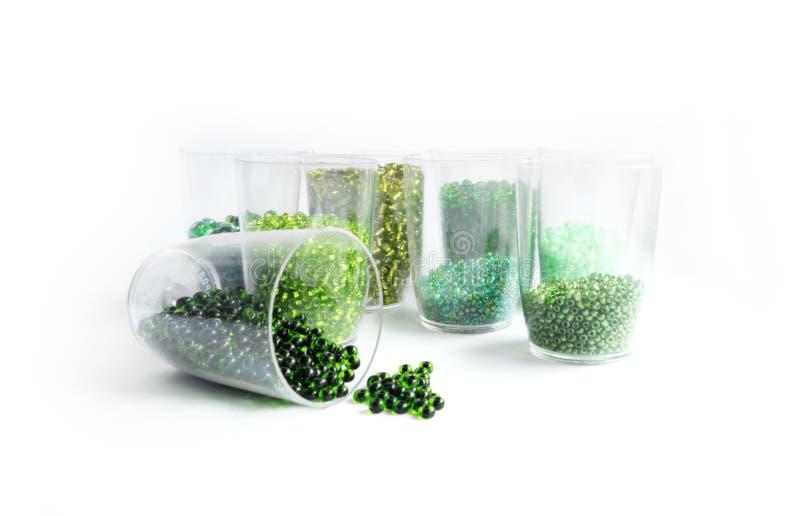 koralik zieleń obraz stock