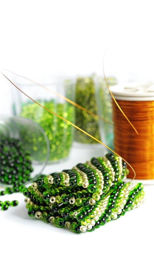 koralik zieleń obrazy royalty free