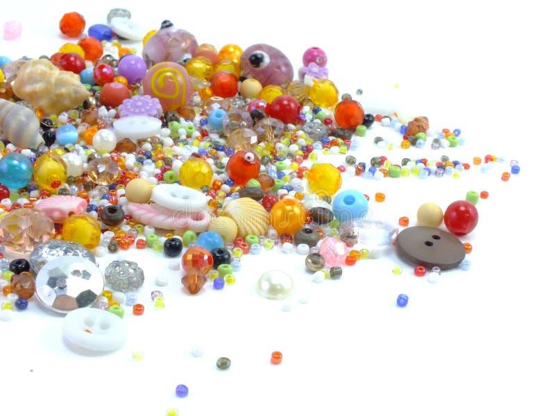 Download Koralika Różnorodny Kolorowy Obraz Stock - Obraz złożonej z abstrakt, greenbacks: 53777743
