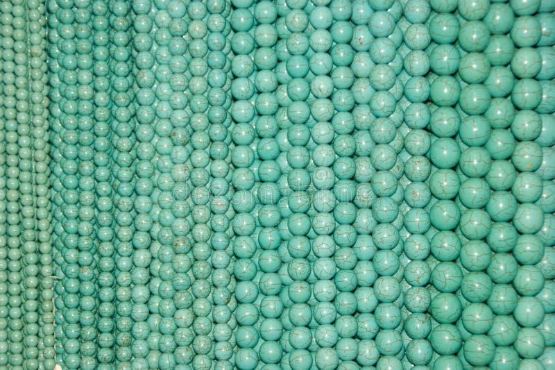 koraliki błękitny obraz stock