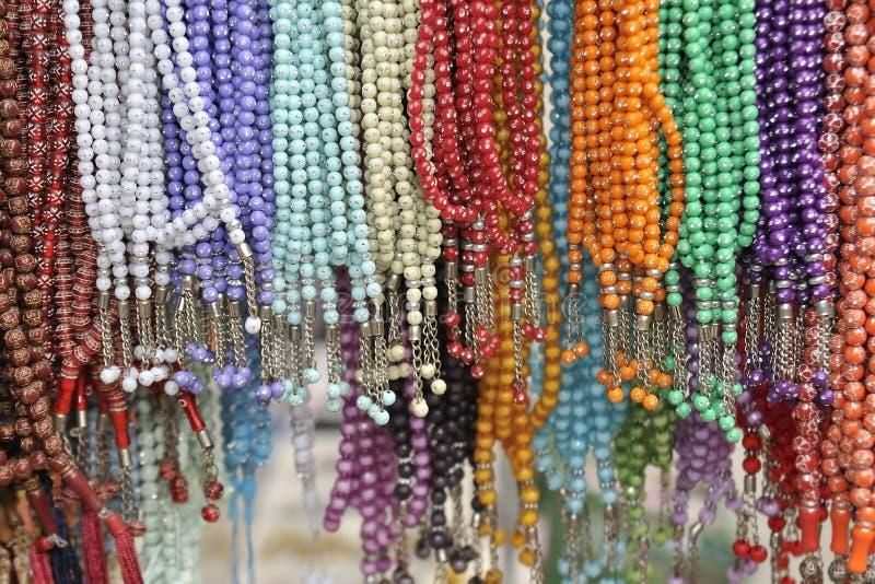koraliki kolorowi zdjęcie royalty free