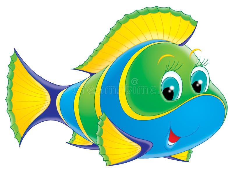Korallenrote Fische stock abbildung