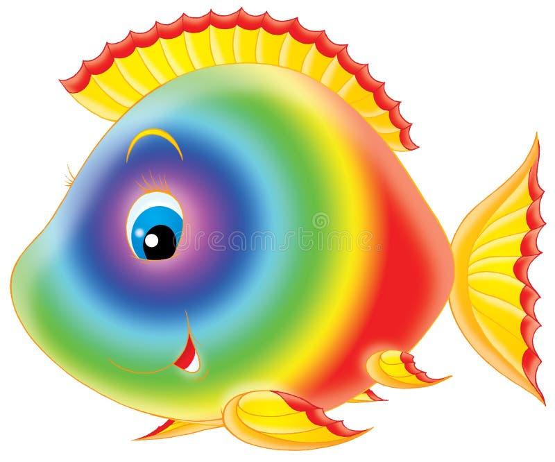 korallfisk vektor illustrationer