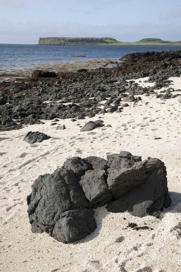 Korallstränder; Waternish royaltyfri fotografi