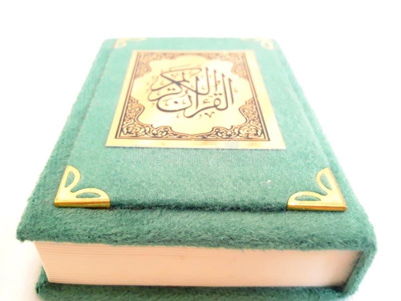Koran - święta księga muzułmanie zdjęcie stock