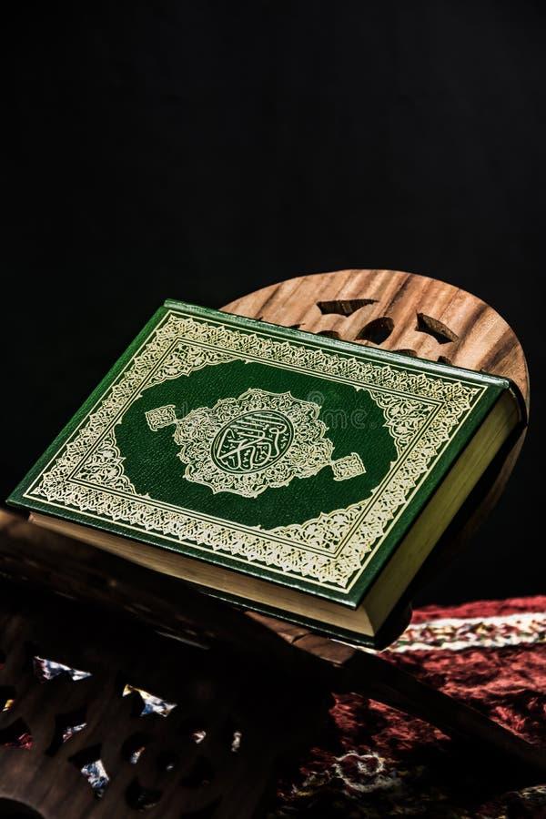 Koran -穆斯林圣经 免版税图库摄影