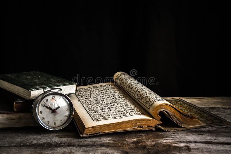 Koran - holy book of Muslims. Still life royalty free stock photo