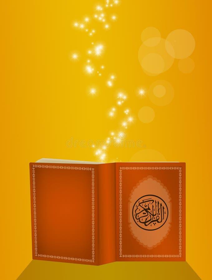 Koran książka royalty ilustracja