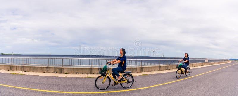 Lam Ta Khong Reservoir - Windmill Khao Yai Thiang. Nakhon Ratchasima, Thailand. Korat-Reservoir Lamtakong:July 27, 2019, tourist groups tourists visit and take stock photos