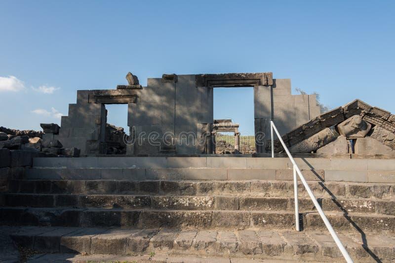 Korazim国家公园 图库摄影