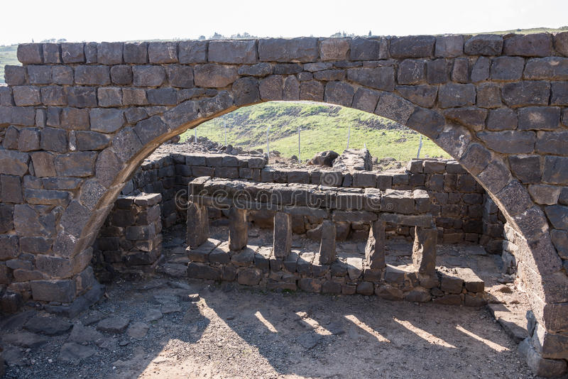 Korazim国家公园 库存图片