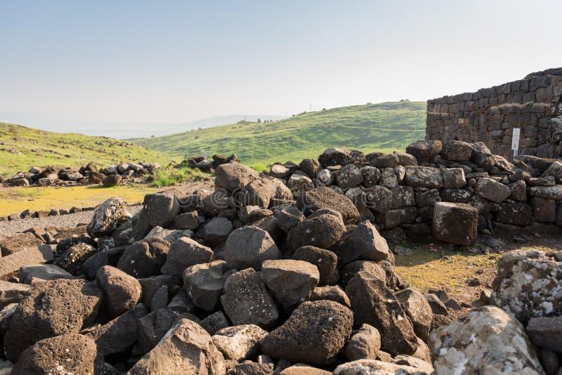 Korazim国家公园 免版税库存图片