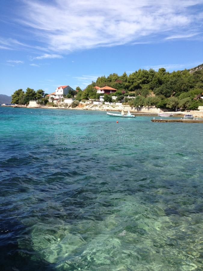 korcula της Κροατίας στοκ εικόνες