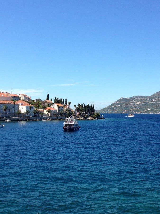 korcula της Κροατίας στοκ φωτογραφία με δικαίωμα ελεύθερης χρήσης