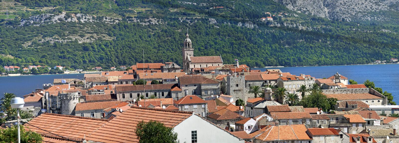Download Korcula stock photo. Image of cars, bright, architecture - 23919344