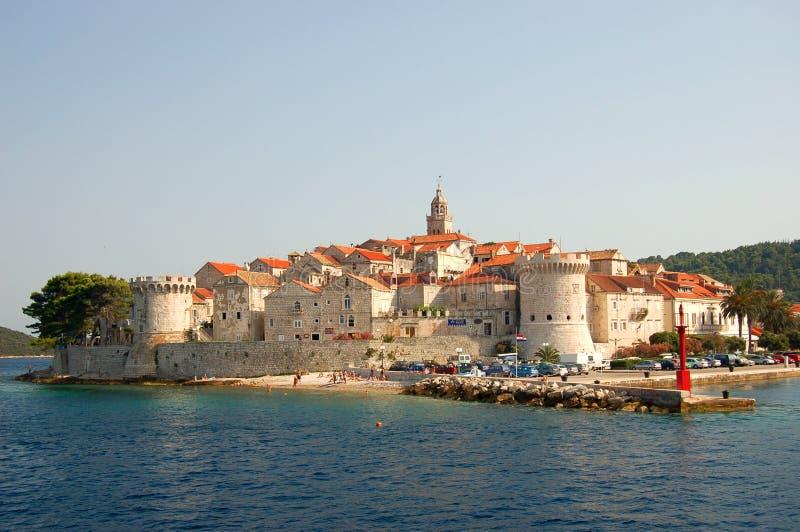 Korcula, Croatia fotos de stock