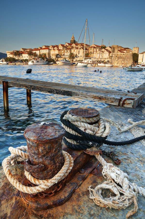 Korcula, Croatia foto de archivo libre de regalías